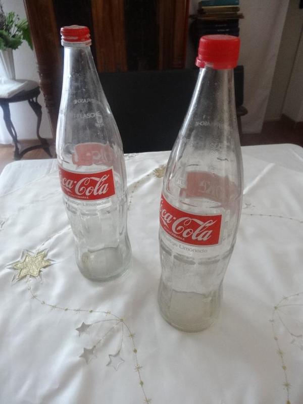 coca cola glasflasche kaufen gebraucht und g nstig. Black Bedroom Furniture Sets. Home Design Ideas