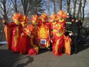 1 Karnevalskostüm Feuer