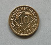 10 Reichspfennig 1934