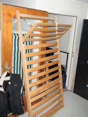 2 Holz Lattenroste