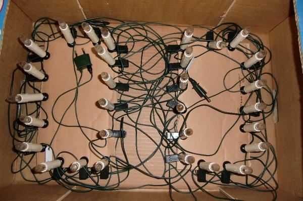 2 innen lichterketten weihnachtsbeleuchtung 30 st ck in m nchen lampen kaufen und verkaufen. Black Bedroom Furniture Sets. Home Design Ideas