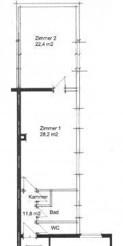 2 Zimmer-Wohnung