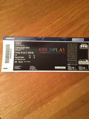 2x COLDPLAY Tickets