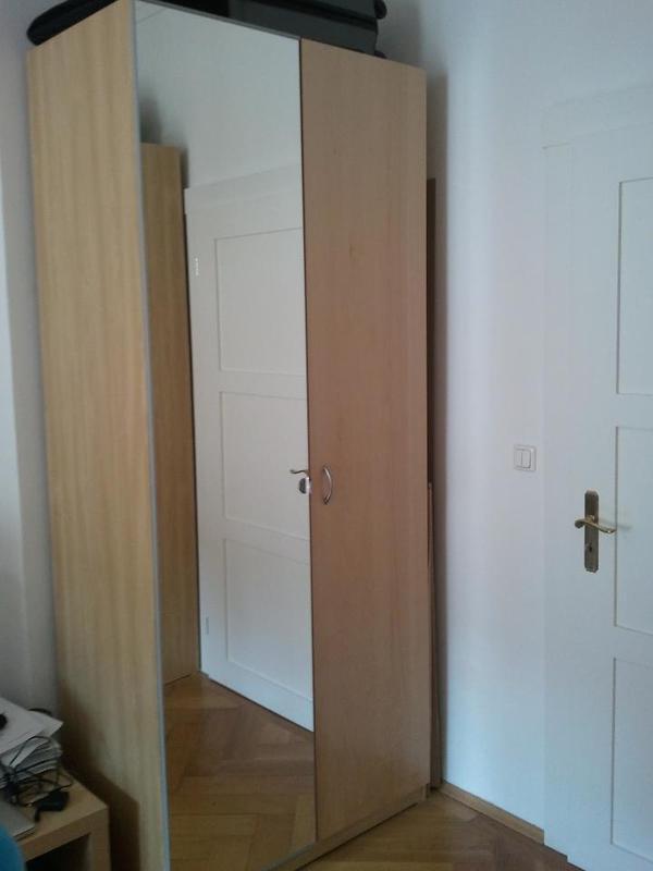 2x Kleiderschrank IKEA PAX Birke zu verkaufen (236x100x58 cm) in ...