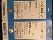 2x Tickets Coldplay