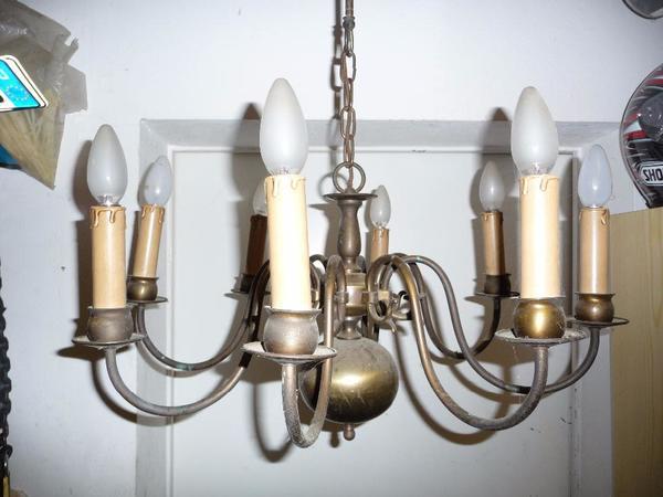 lampen leuchten antik kaufen gebraucht und g nstig. Black Bedroom Furniture Sets. Home Design Ideas