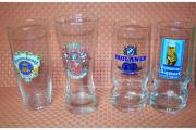 4 Biergläser
