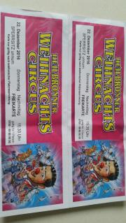 4 Circus Tickets