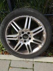 4 Mercedes Alufelgen