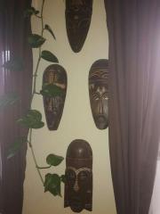 4 schöne Afrikafiguren