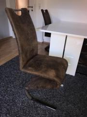 4 Stühle Sitzgruppe
