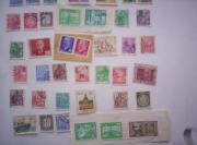 40 Briefmarken aus