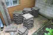 45 Betonplatten für