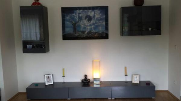 5 teilige wohnwand 4 monate alt in m nchen wohnzimmerschr nke anbauw nde kaufen und verkaufen. Black Bedroom Furniture Sets. Home Design Ideas