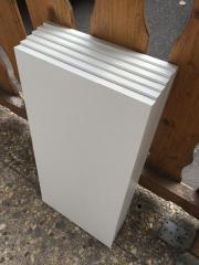 6x weiße Küchenschränke