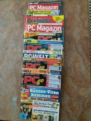 9 Computerzeitschriften älteren