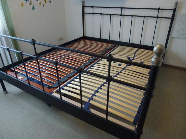 ikea metallbett pin ikea metallbett 140x200 on pinterest. Black Bedroom Furniture Sets. Home Design Ideas