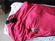 Abschwitzdecke 155 pink/