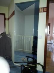 abzugeben grosser Wandspiegel