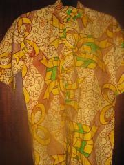 Afrikanisches Herrenhemd