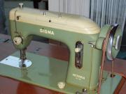 Alte, funktionsfähige Nähmaschine