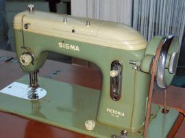 Alte, funktionsf?hige N?hmaschine SIGMA Victoria K.L.-60 zu ...