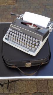 Alte Schreibmaschine Hanseatic