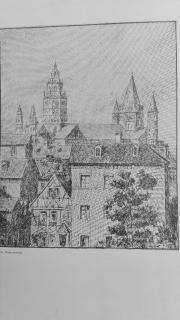 alte Zeichnungen von