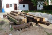 Alter Holzbalken