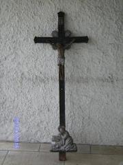 Altes Grabkreuz aus