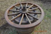 Altes Kutschen Rad