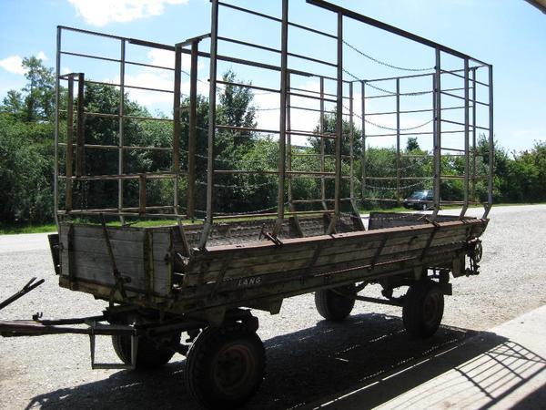 anh nger gitterwagen traktor landmaschinen in m nchen traktoren landwirtschaftliche. Black Bedroom Furniture Sets. Home Design Ideas