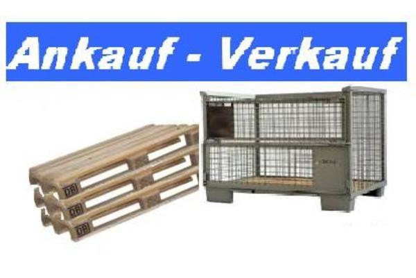 ankauf verkauf europaletten gitterboxen auch i. Black Bedroom Furniture Sets. Home Design Ideas