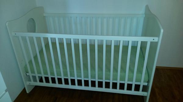 Ikea Hochbett Auseinanderbauen ~ Verkaufe das babybett von meinem sohn ist im guten gebrauchten zustand