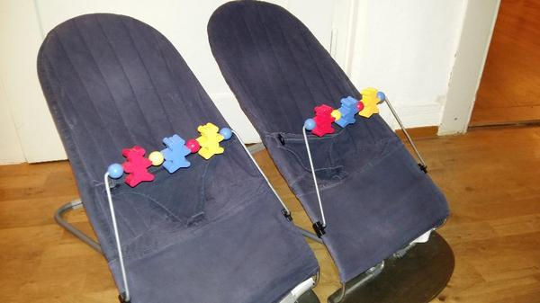 babybj rn wippe f r zwillinge gut erhalten in stuttgart baby und kinderartikel kaufen und. Black Bedroom Furniture Sets. Home Design Ideas