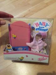 baby born miniworld kinder baby spielzeug g nstige angebote finden. Black Bedroom Furniture Sets. Home Design Ideas