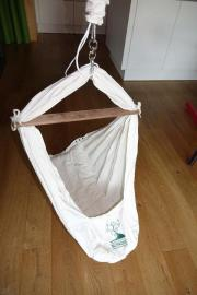 Babyhängematte mit Türklammer (