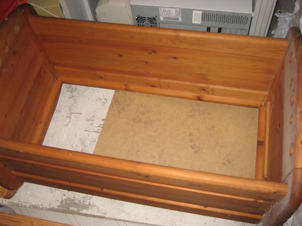babywiege holz neu und gebraucht kaufen bei. Black Bedroom Furniture Sets. Home Design Ideas