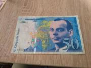 banknote frankreich