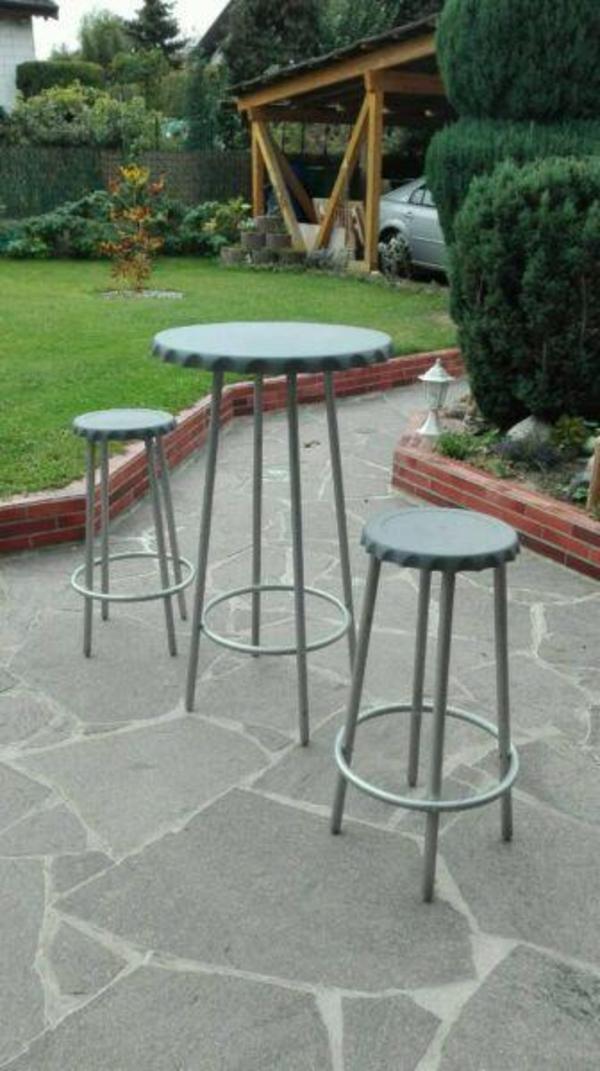 Barhocker bistrotisch tisch stuhl in haimhausen for Barhocker quoka