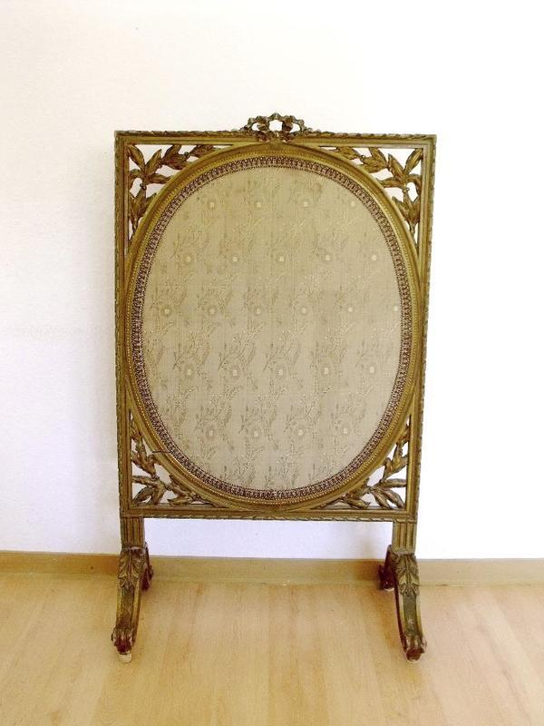 barocker stellschirm um 1900 in freiberg sonstige m bel antiquarisch kaufen und verkaufen ber. Black Bedroom Furniture Sets. Home Design Ideas
