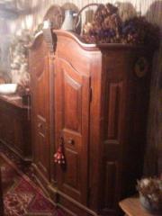Bauernschrank antik,Wäscheschrank,