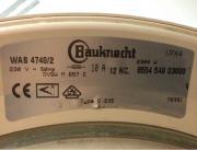Bauknecht Waschmaschine WAS