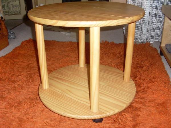 beistelltisch holz neu und gebraucht kaufen bei. Black Bedroom Furniture Sets. Home Design Ideas