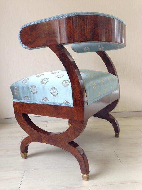 bergere sessel danhauser entwurf ein original um 1820 in gotha sonstige m bel antiquarisch. Black Bedroom Furniture Sets. Home Design Ideas