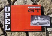 Betriebsanleitung Opel GT