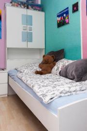 Bettkasten mit Schrank