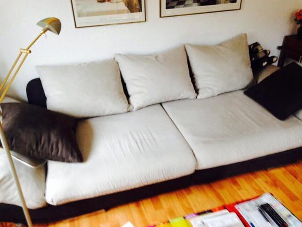 Big sofa schn ppchen wie neu in karlsruhe polster sessel couch kaufen und verkaufen ber Mann mobilia sofa
