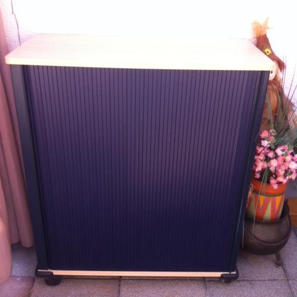blaue trollys f r b ro oder hnliches in karlsdorf neuthard b rom bel kaufen und verkaufen. Black Bedroom Furniture Sets. Home Design Ideas