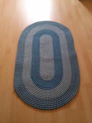 blauer Teppich